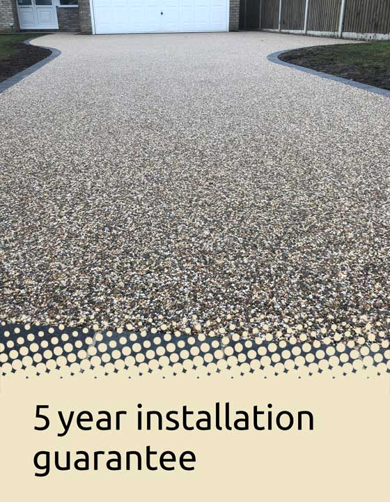 5 year installation guarantee